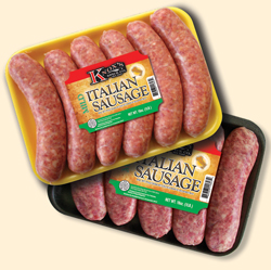Private label sausage